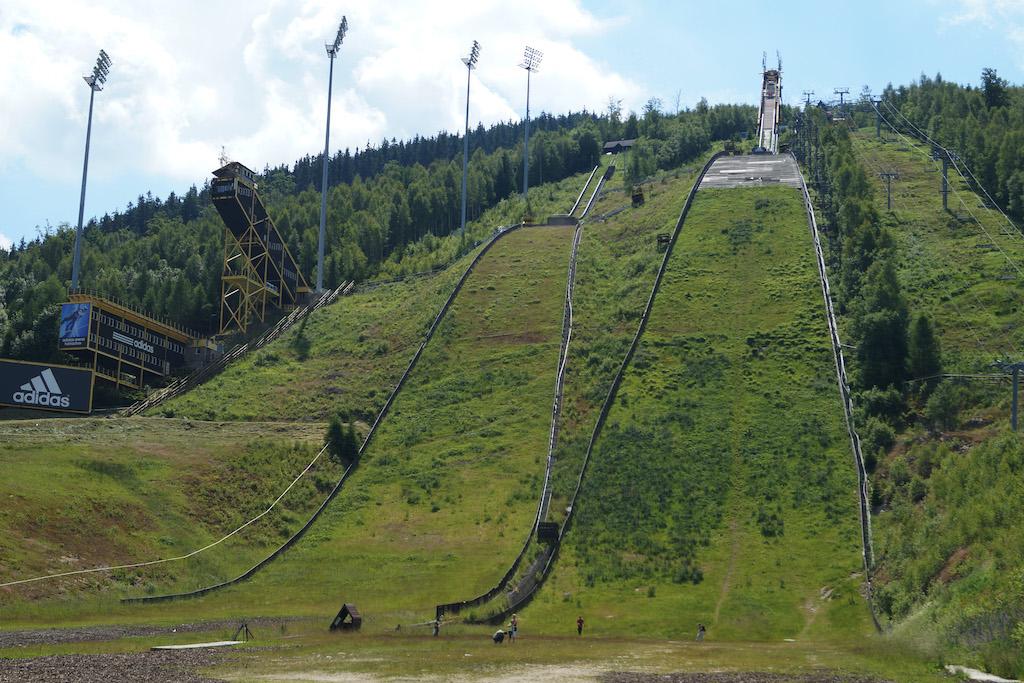 Kompleks skoczni narciarskich Čerťák w czeskim Harrachovie