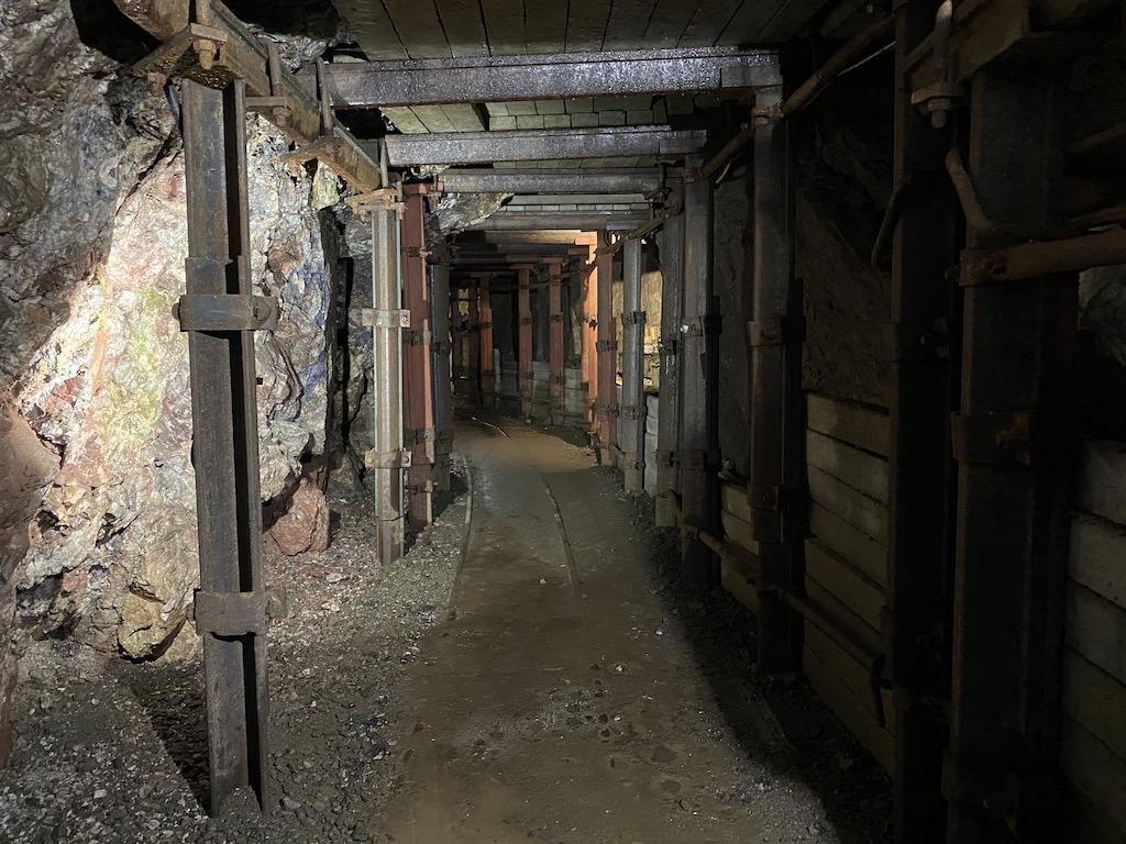 Podziemna trasa kopalnia uranu w Kletnie