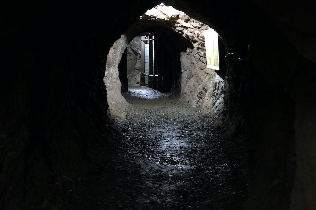 Podziemna trasa kopalnia uranu w Kletnie – Źródło: Kopalnia Kletno